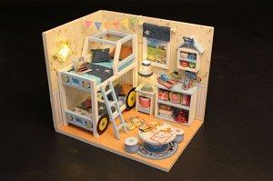 Комната мальчишек. Румбокс для самостоятельной сборки, набор с инструментами и материалами.