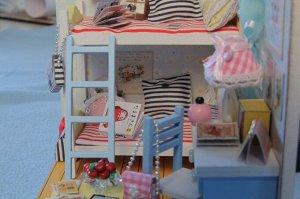 Комната девчонок. Румбокс для самостоятельной сборки, набор с инструментами и материалами.