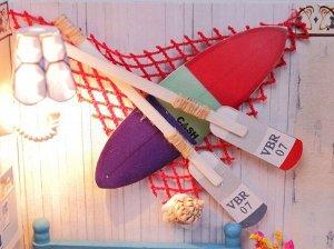 Греческие каникулы. Румбокс для самостоятельной сборки, набор с инструментами и материалами.