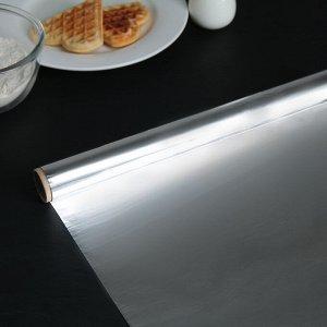 Фольга алюминиевая пищевая «Доляна», 29 см ? 8 м, 9 мкм