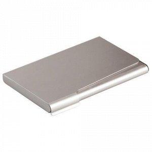 Визитница карманная DURABLE (Германия) на 20 визиток, алюминиевая, 2415-23