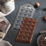 Форма для шоколада «Шоколад традиционный», 7?15?1 см 4309152