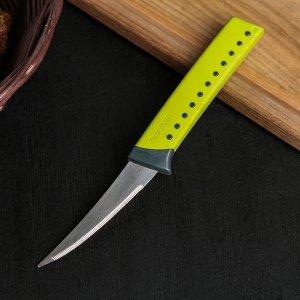 Нож кухонный Herevin Lemax, 8,2 см, овощной, цвет МИКС