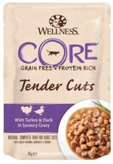 CORE TENDER CUTS паучи из индейки с уткой в виде нарезки в соусе для кошек 85 г