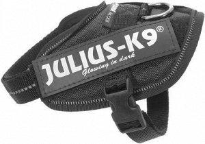 JULIUS-K9 шлейка для собак IDC®-Powerharness 2 (71-96см/ 28-40кг), черный