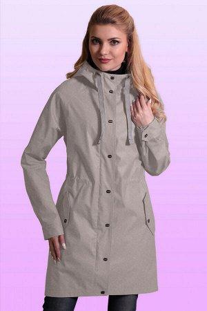 Серый Наверняка многие модницы согласятся, что одежда должна быть не только стильной, но и функциональной. Такие качества отлично сочетаются в женском плаще с капюшоном. Плащ прямого силуэта, по талии