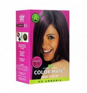 9.5 Краска для волос ColorMate на основе натуральной хны коричневато-красный цвет 75 г
