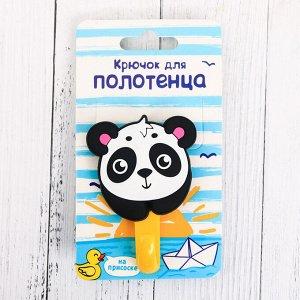 Крючок для полотенца «Панда», 9 х 5 см 3865703