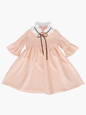 *Платье (98-122см) UD 6224(1)крем-роз (персик)