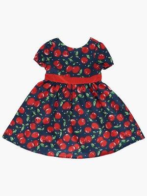 Платье (98-122см) UD 7096(1)черешня