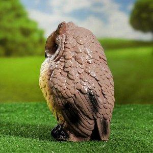 """Садовая фигура """"Совушка малая, 20,5х13х11см"""