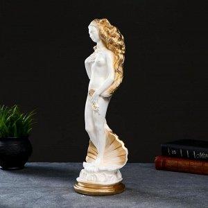 "Фигура ""Афродита"" белая, 40,5х12,5х12см"