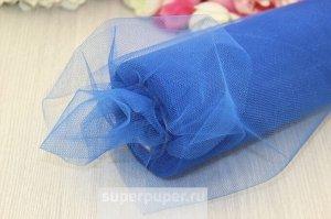 Фатин на шпульке пыльно голубой