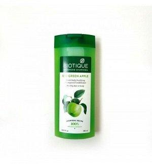 Bio Green Apple Fresh Daily Purifying Shampoo & Conditioner/Биотик Био шампунь И Кондиционер Зеленое Яблоко