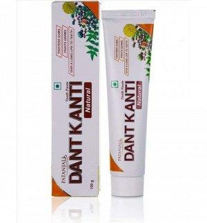 PATANJALI Dant Kanti 100gm / Аюрведическая зубная паста 100 гр.
