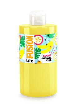 Гель для душа Fusion Life Банан 460 мл
