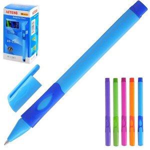 "Ручка шарик ""Mazari"" 0.7 мм для левшей, синяя корпус плост. трехгран"