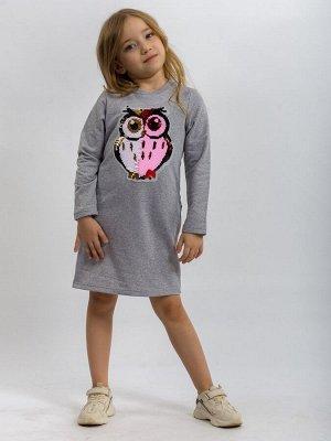 Платье детское ML-Филин (футер)