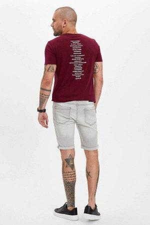 шорты Размеры модели: рост: 1,82 грудь: 98 талия: 81 бедра: 96 Надет размер: 32 Elastan 1%, Хлопок 99%