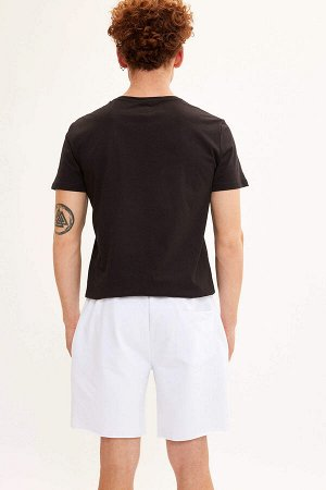 шорты Размеры модели: рост: 1,85 грудь: 98 талия: 78 бедра: 83 Надет размер: M  Полиэстер 5%, Хлопок 95%