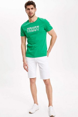 шорты Размеры модели: рост: 1,83 грудь: 98 талия: 82 бедра: 96 Надет размер: 32 Elastan 3%, Хлопок 97%