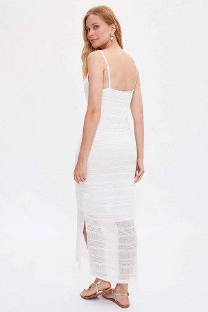Платье Размеры модели: рост: 1,75 грудь: 82 талия: 60 бедра: 91 Надет размер: S Полиэстер 30%,хлопок 70%