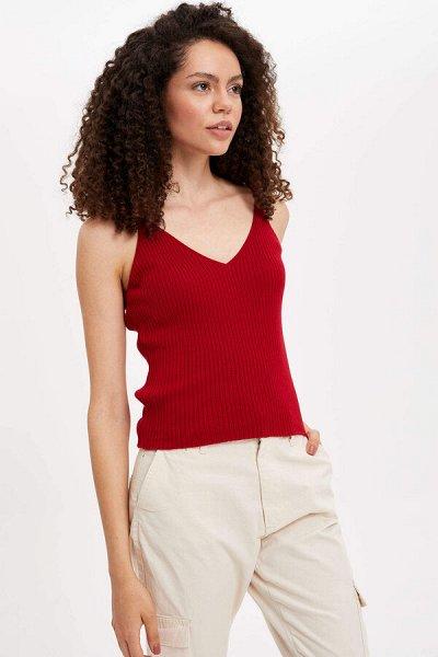 DEFACTO -рубашки, футболки, поло, брюки, платья — Майки, топы — Майки