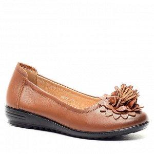 Туфли Страна производитель: Китай Полнота обуви: Тип «F» или «Fx» Материал верха: Натуральная кожа Цвет: Коричневый Материал подкладки: Натуральная кожа Стиль: Повседневный Форма мыска/носка: Закругле