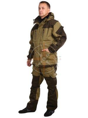 костюм Шторм на флисе дмс (палатка хаки)