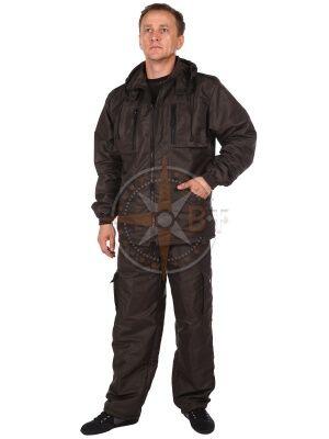 костюм Лес дмс на флисе (таслан хаки)