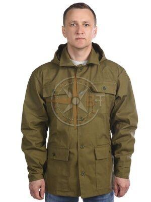 куртка Штормовка (палатка хаки) Куртка прямого силуэта, с застёжкой на 5 пуговиц | Униформа и спецодежда для мужчин