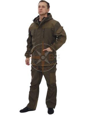 костюм Шторм дмс (полофлис темн.хаки)