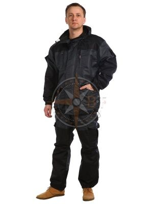 костюм Шторм дмс (таслан серый)