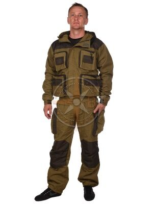 костюм Хантер дмс на флисе (палатка хаки)