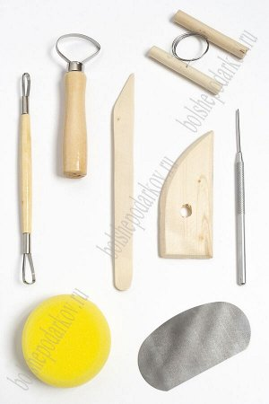 Набор инструментов для лепки (8 шт) SF-5507