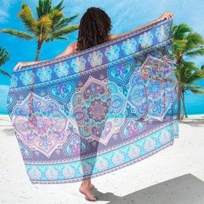 Фотошторы, фототюль и домашний текстиль с фотопечатью (13) — Парео — Пляжная одежда