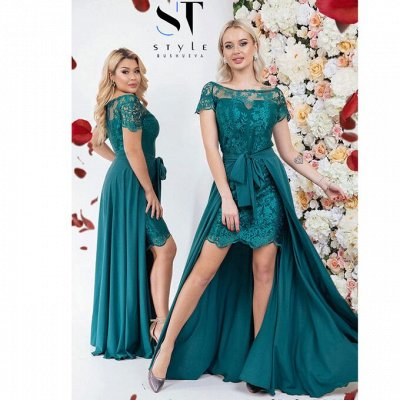 SТ-Style*⭐️Летняя коллекция! Обновлённая! — 48+: Вечерние платья — Вечерние платья