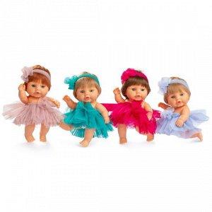Berjuan / 190b Expositor Peque Baby Con Pelo 12 Unidades - Пупсы в юбках 20 см