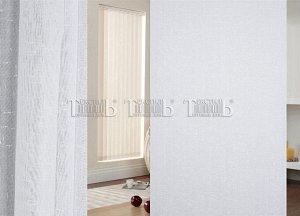 Лен Lamella TC 2DX1218-1 белоснежныйс утяжелителем  5 м (ткань Турция Luxe)