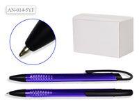 Ручка шариковая, СИНИЙ корпус, цвет чернил синий