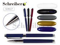 Пластиковый футляр с прозрачной крышкой, 17х4,5см,  + ручка шариковая (SD-234)