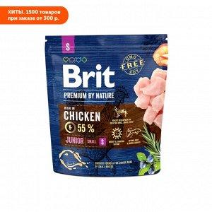 Brit Premium by Nature Junior Small сухой корм для молодых собак  мелких пород 1кг