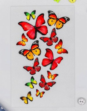 Термотрансфер Бабочки 13*20см