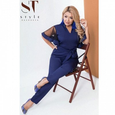 SТ-Style*⭐️Летняя коллекция! Обновлённая! — 48+: Комбинезоны — Комбинезоны