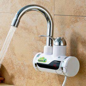 Проточный водонагреватель на кран