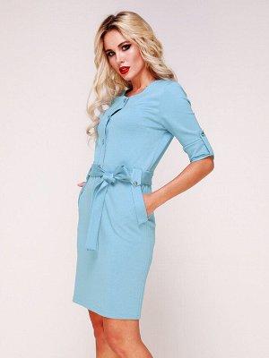 Платье 326/2 небесно-голубой