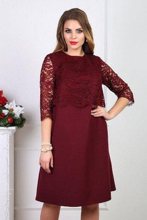 Платье 100/2, винный