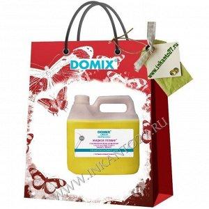 Domix Средство для ускоренной подготовки к маникюру и педикюр Жидкое лезвие, 3000 мл