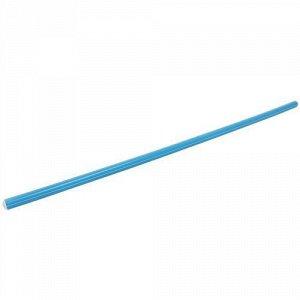 Палка гимнастическая 100 см. цв. голубой