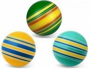 "Мяч д.150 мм. ""Полосатики"" ручное окрашивание (полосатики,ленточки,дорожки)"